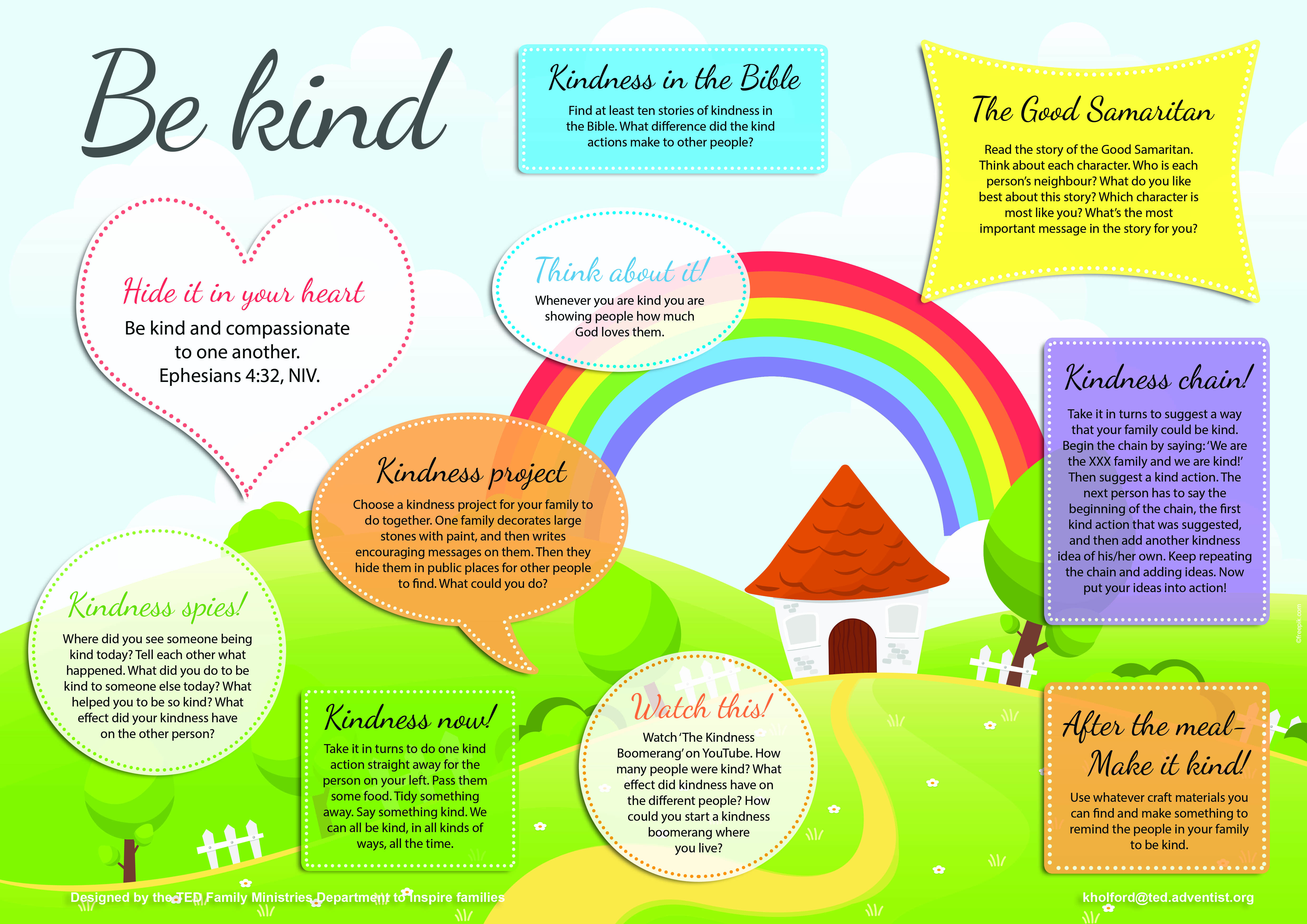 Be Kind placemat