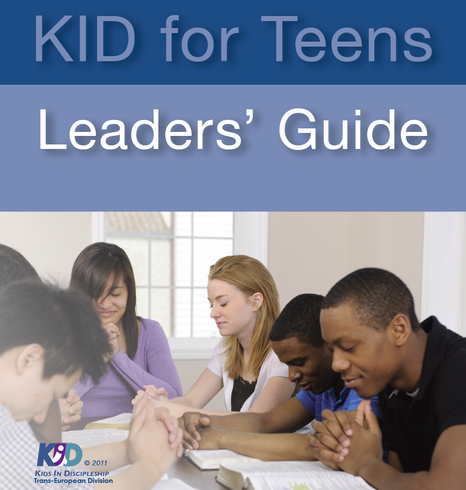 KID for Teens leaders guide cover