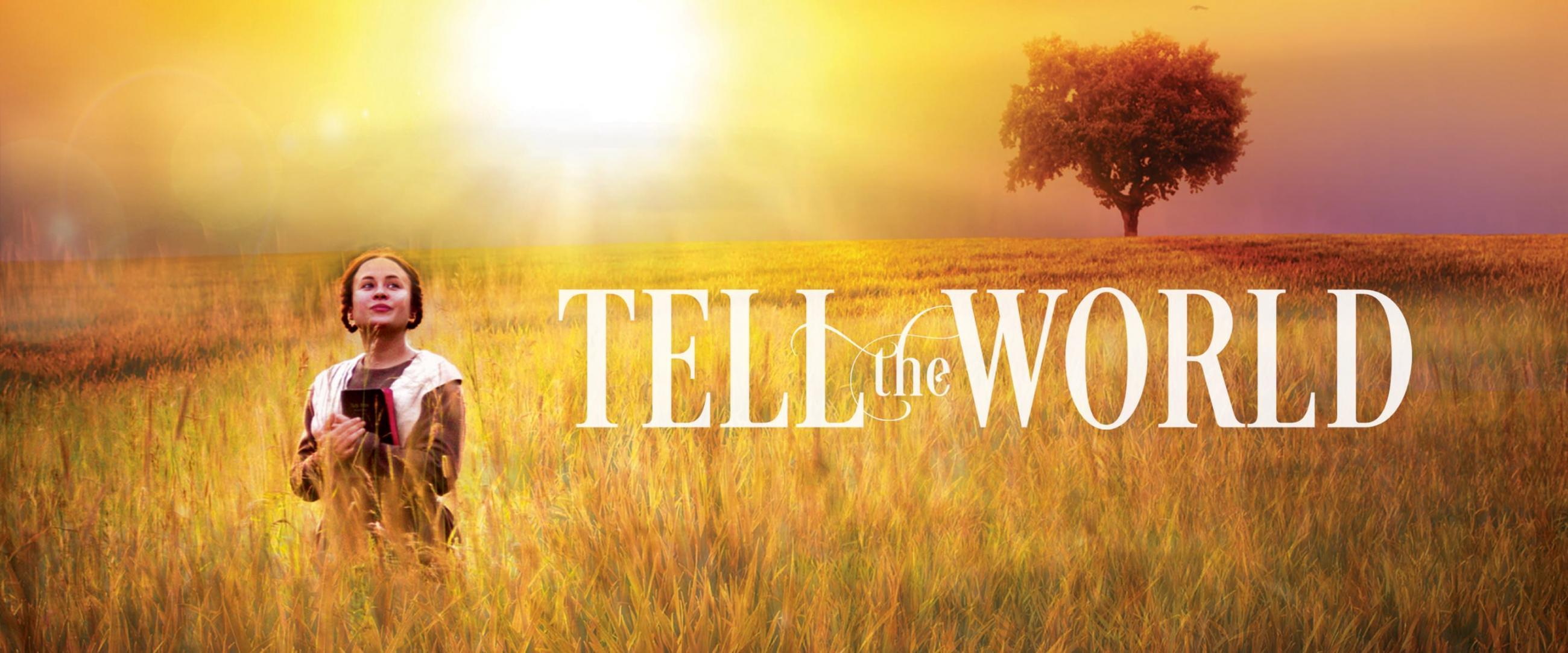 Tell the world Homepage