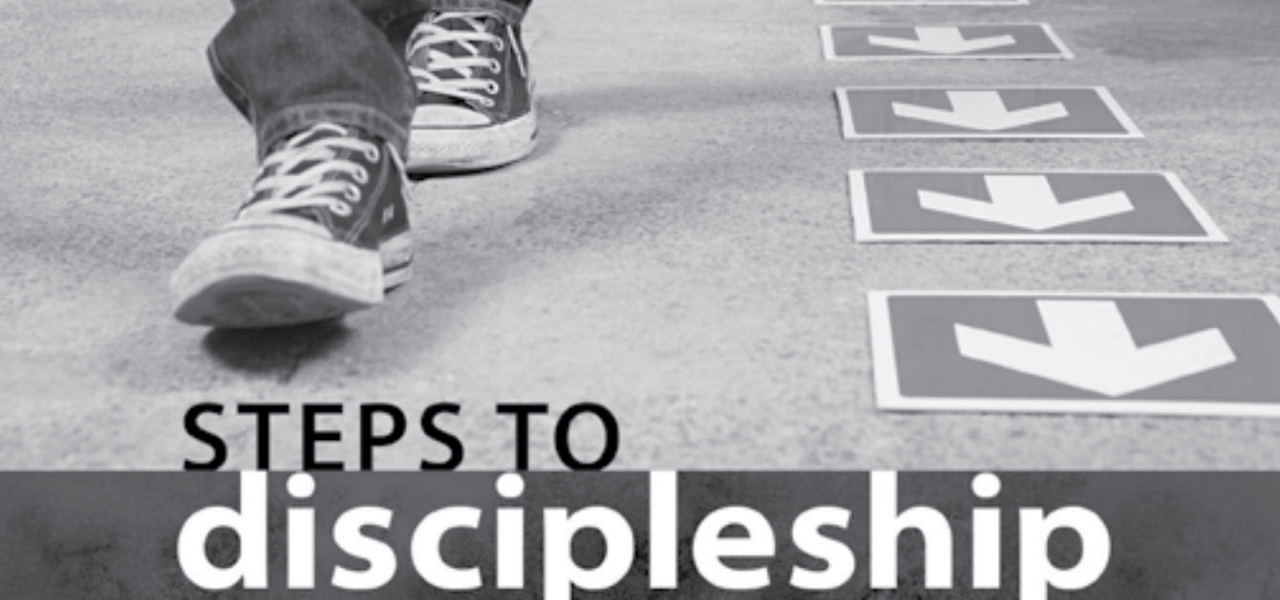 Steps to Discipleship cover