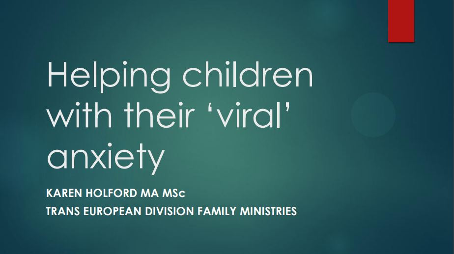 Helping children with their 'viral' anxiety