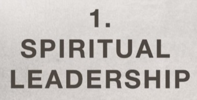 Elders 1 Spiritual leadership