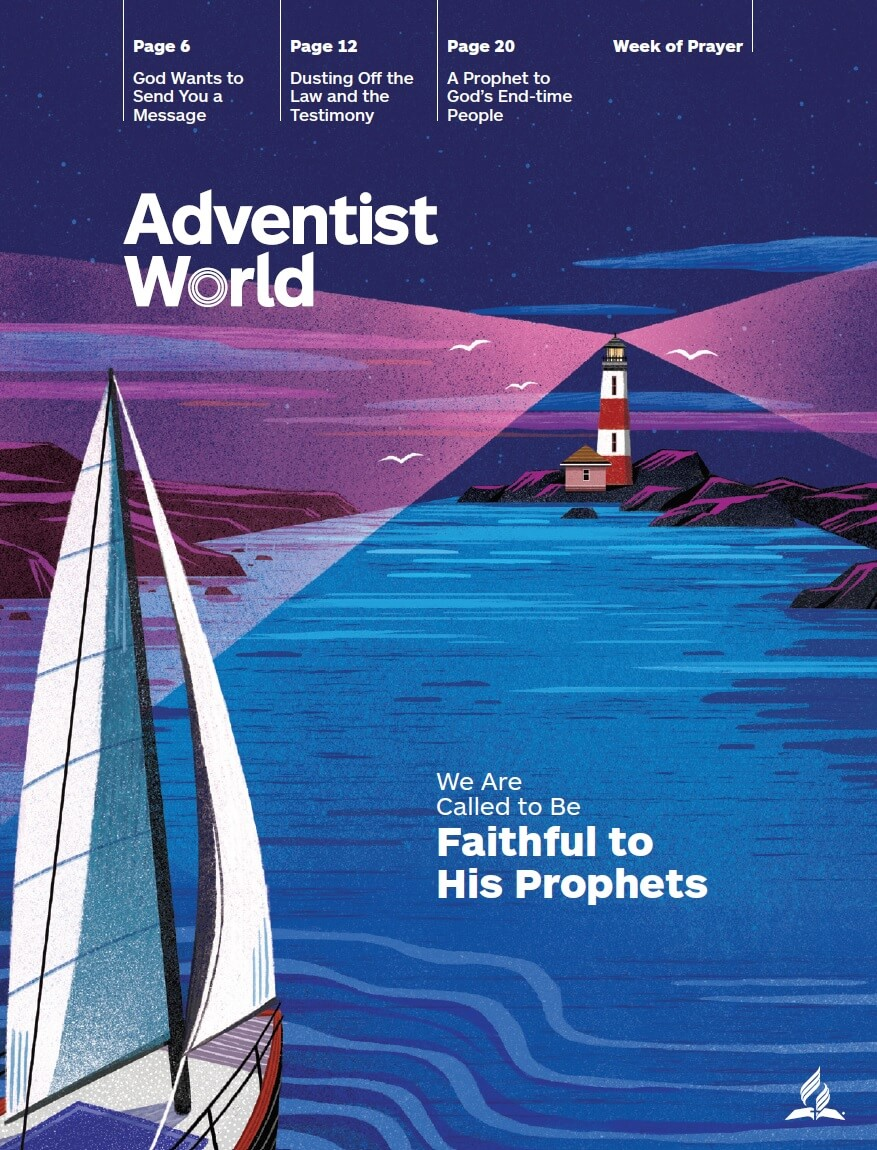 Adventist World - We are Called to Be Faithful to His Prophets - 2019 week of prayer readings