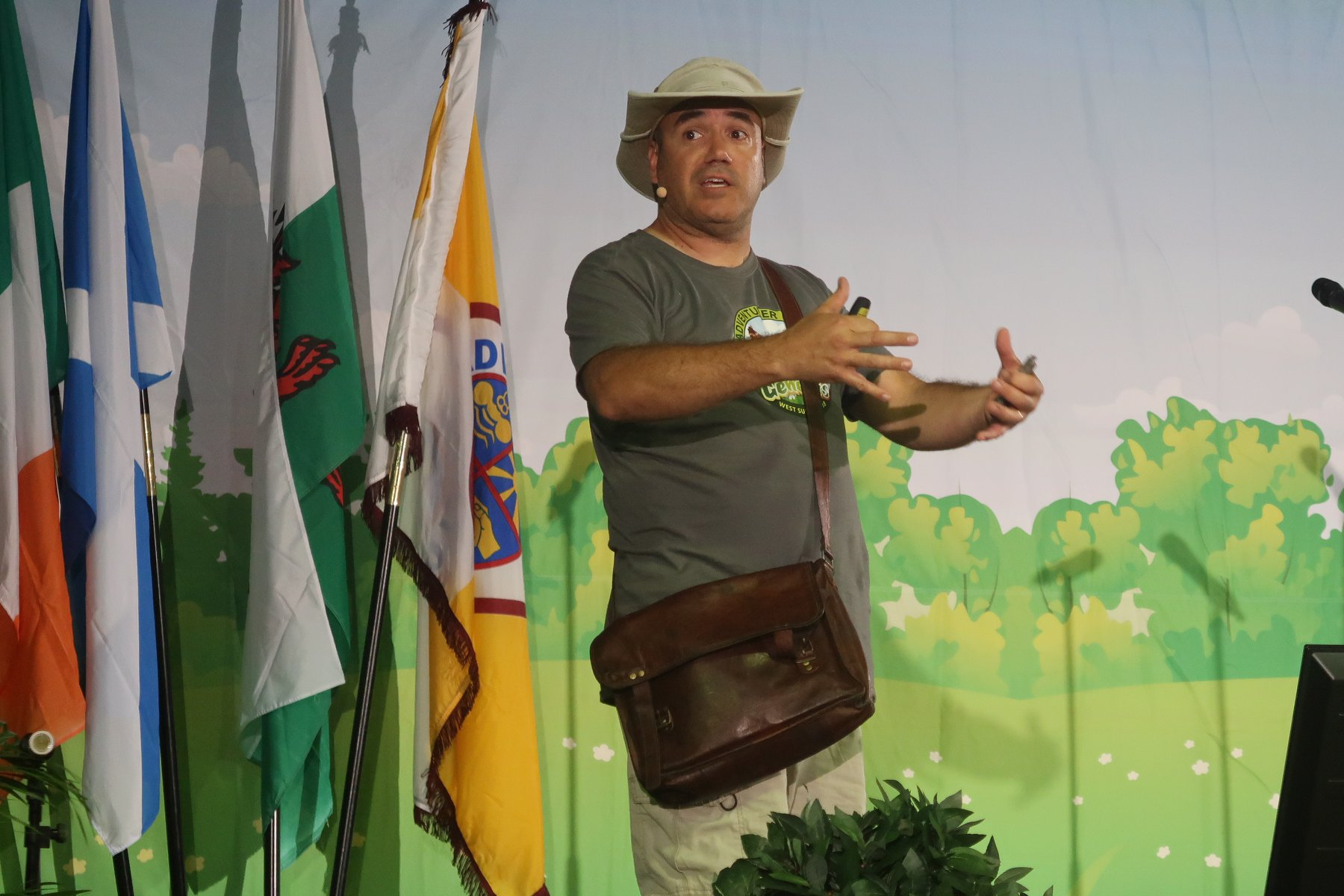 BUC Adventurer camporee speaker