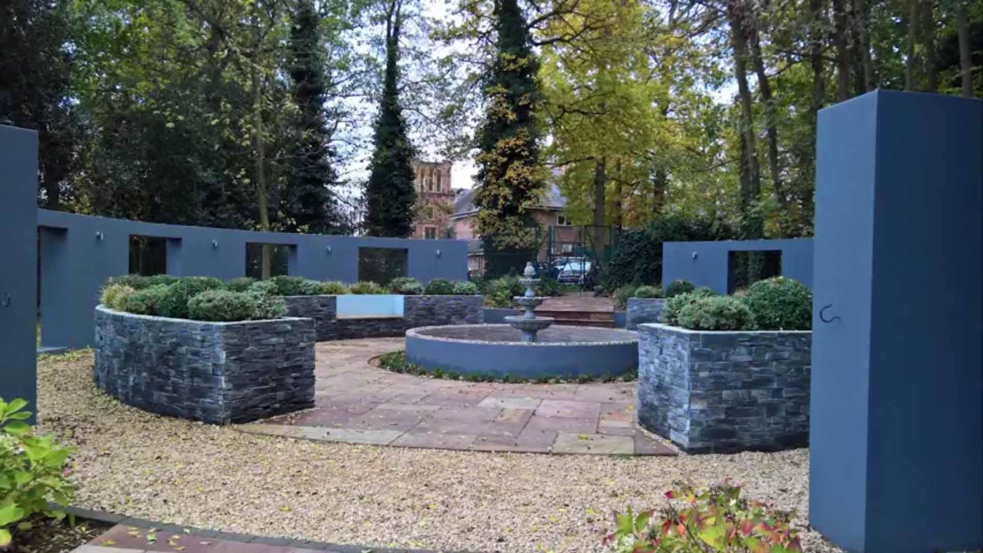 Peace garden repaint