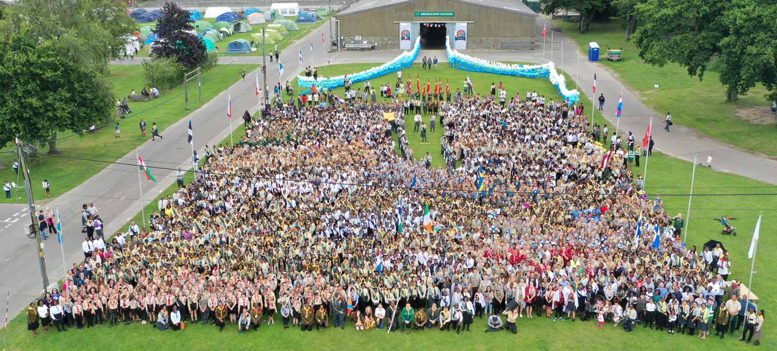 Camporee group photo