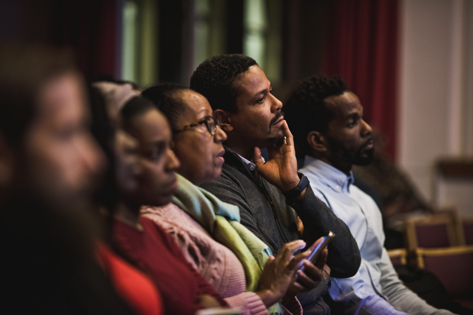 Diversity Lecture Nov 2019 audience listening