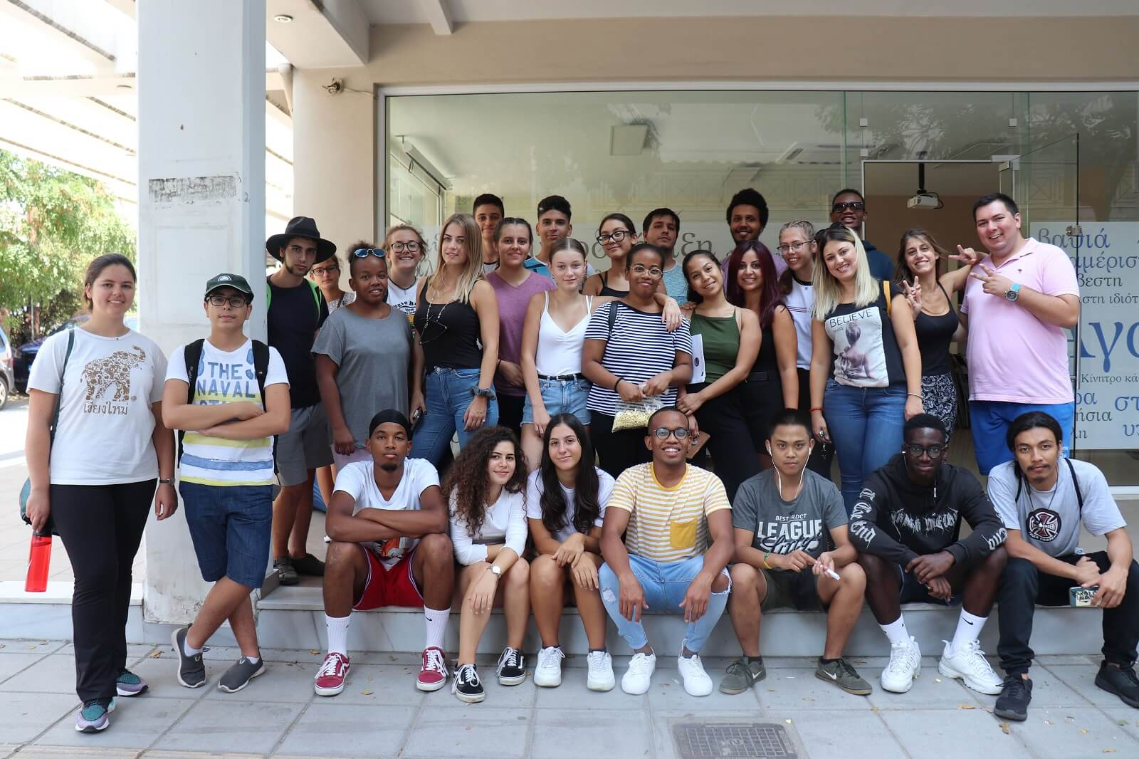Group photo at the northern greece youth conference