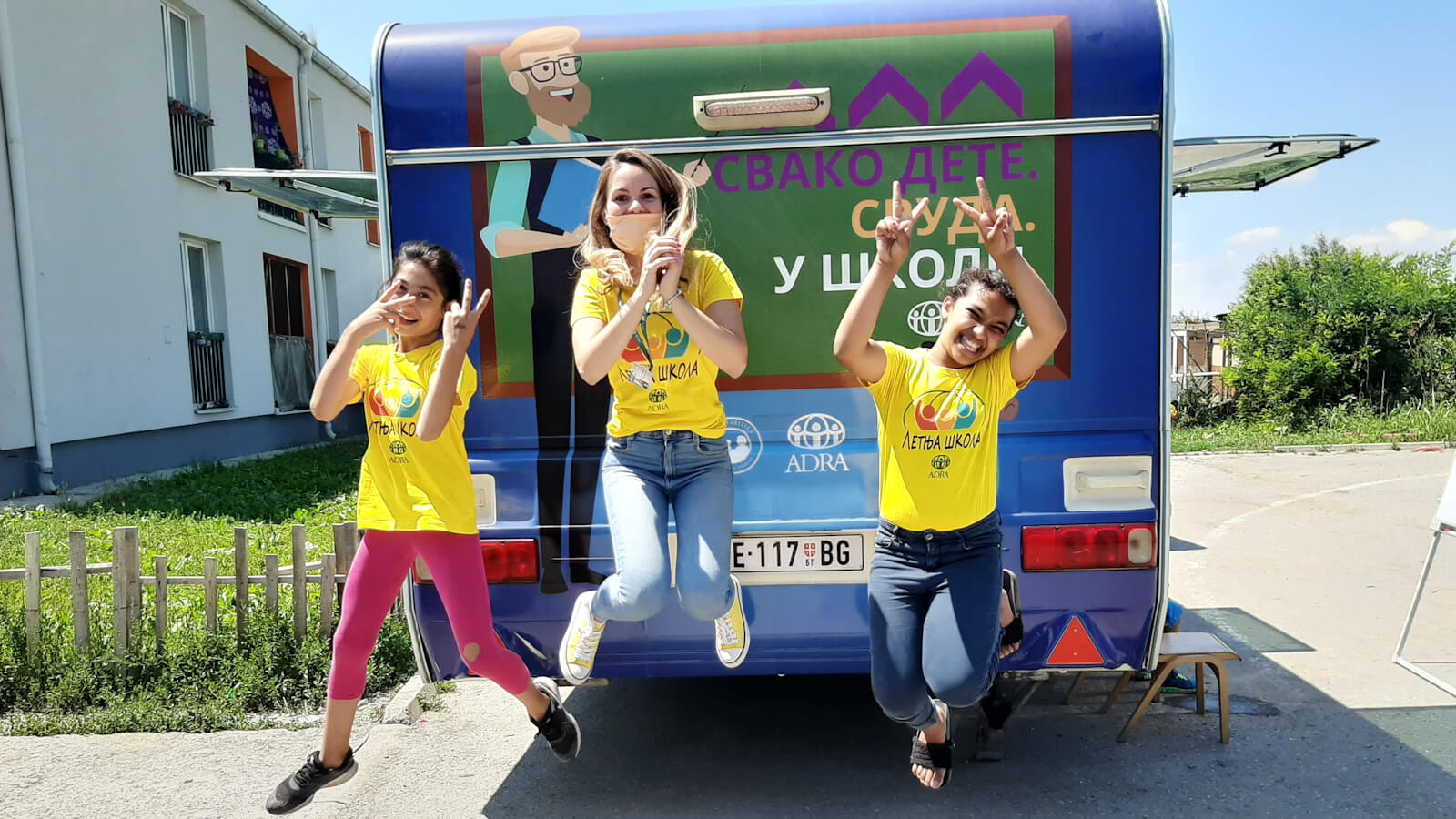 ADRA Serbia - School on Wheels