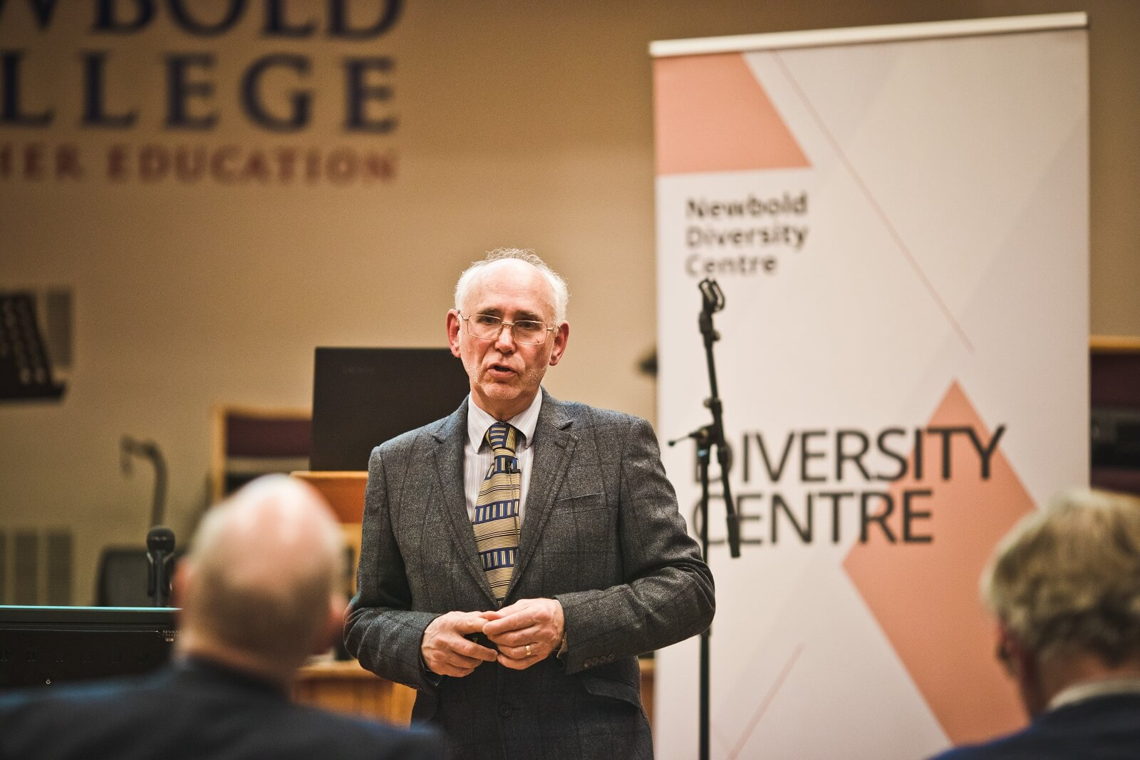 David Putt at Diversity Lecture - March 2020