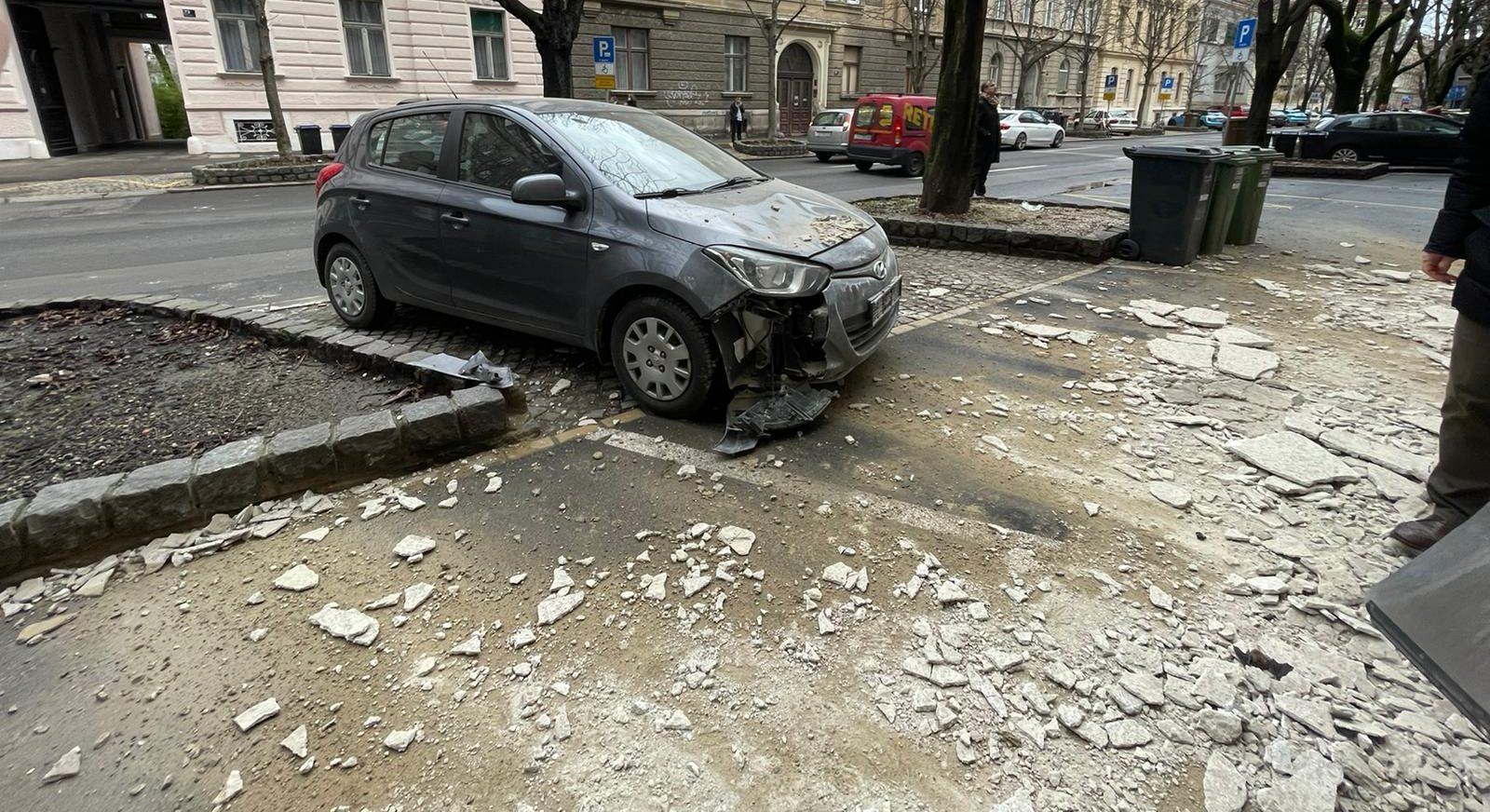 Earthquake Zagreb December 2020