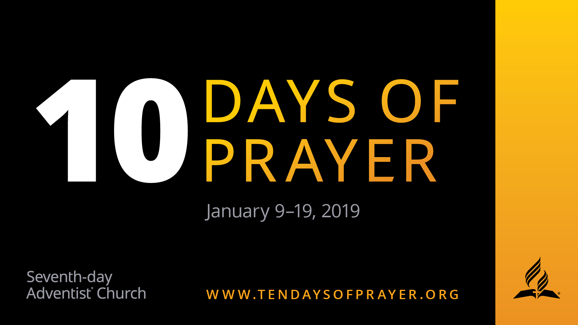 10 Days of Prayer 16x9